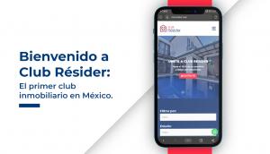 bienvenido a club résider el primer club inmobiliario en méxico